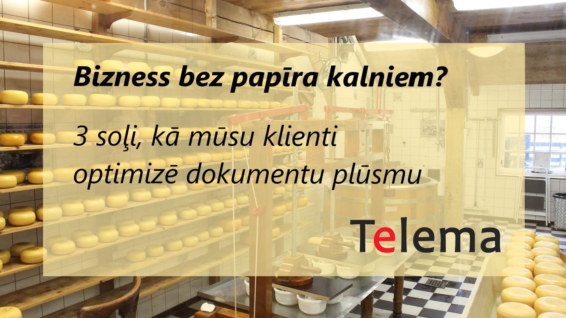 Telema piedalīsies Riga Food 2020 ar semināru